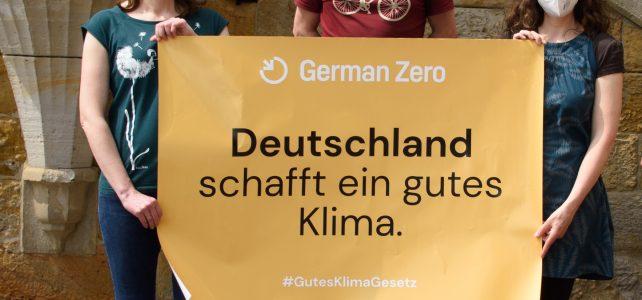 09.06.2021 – Osnabrück Klimaneutral unterstützt 1,5 Grad Gesetzespaket